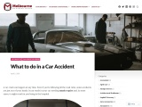 What to do in a Car Accident? – Melbourne