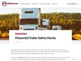 8 Essential Trailer Safety Checks