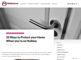 10 Ways to Protect your Home When you're on Holiday