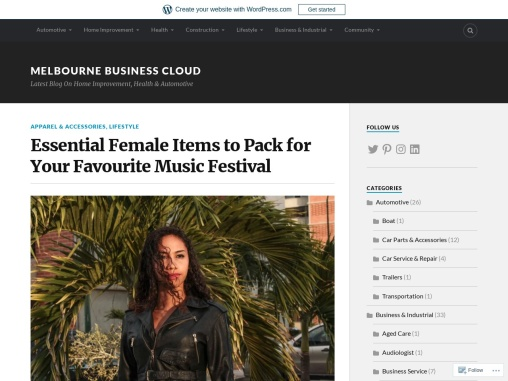 Essential Female Items to Pack for Your Favourite Music Festival