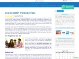 Best Research Writing Services
