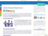 Genuine Nursing Writing Services