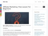 What Is Affiliate Marketing? – A beginner's guide
