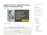 """USMLE – Mendel academy  """