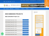 IEEE Embedded Systems Projects