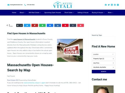 Real Estate Agent in Massachusetts