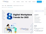 8 Digital Workplace Trends for 2021