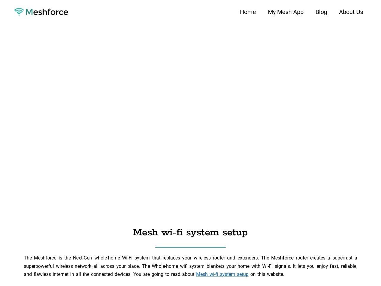 How To Login Meshforce Router?