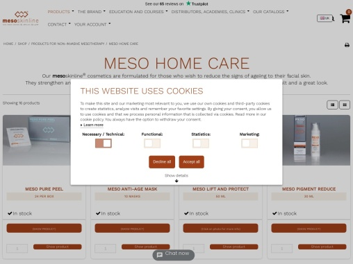 Beauty Products | Meso Skin Treatment | Mesotherapy for Skin