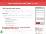 Flanges Manufacturer In Mumbai,India