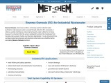 Commercial Reverse Osmosis System used for Manufacturing Industries