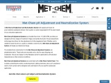 pH Adjustment & Neutralization Systems for Wastewater Treatment