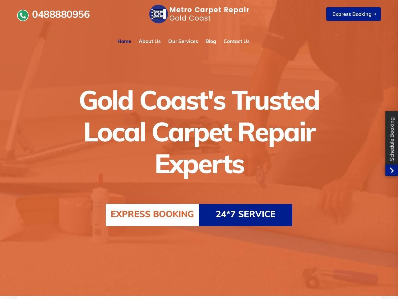 Book Carpet Repair & Carpet Restretching Services in Kingston .