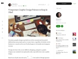 9 Important Graphic Design Pointers to Keep in Mind