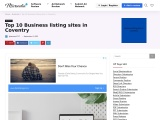 Business listing sites in Coventry