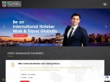 Best MBA college for Hotel Management
