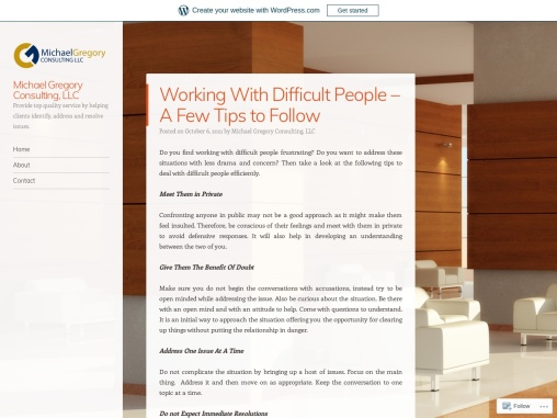 Working With Difficult People – A Few Tips to Follow