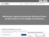 Cognitive Automation – With our solutions, we promise to amplify your business using AI