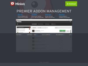 Minion - Premier AddOn Management