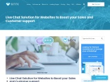 Live Chat Solution for Websites to Boost your Sales and Customer support