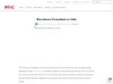 Top Recruitment Consultants in India