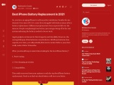 Best iPhone Battery Replacement in 2021 – MobileSentrix Canada