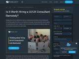 Mobilunity UI UX Consultant service