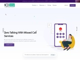 Missed call number   generate leads