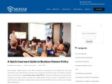 A Quick Insurance Guide to Business Owners Policy