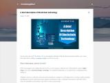 A brief description of Blockchain technology