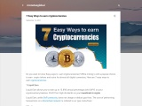 7 Easy Ways to earn cryptocurrencies