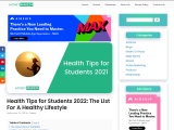 Health Tips for Students 2021: The List For A Healthy Lifestyle