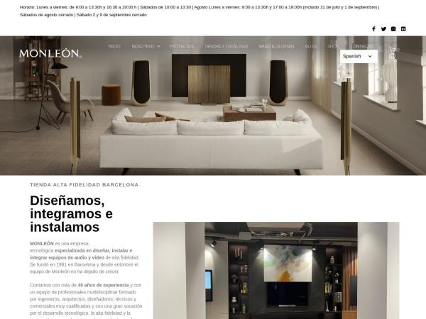 Tienda Electrónica Barcelona – Monleón Electrónica
