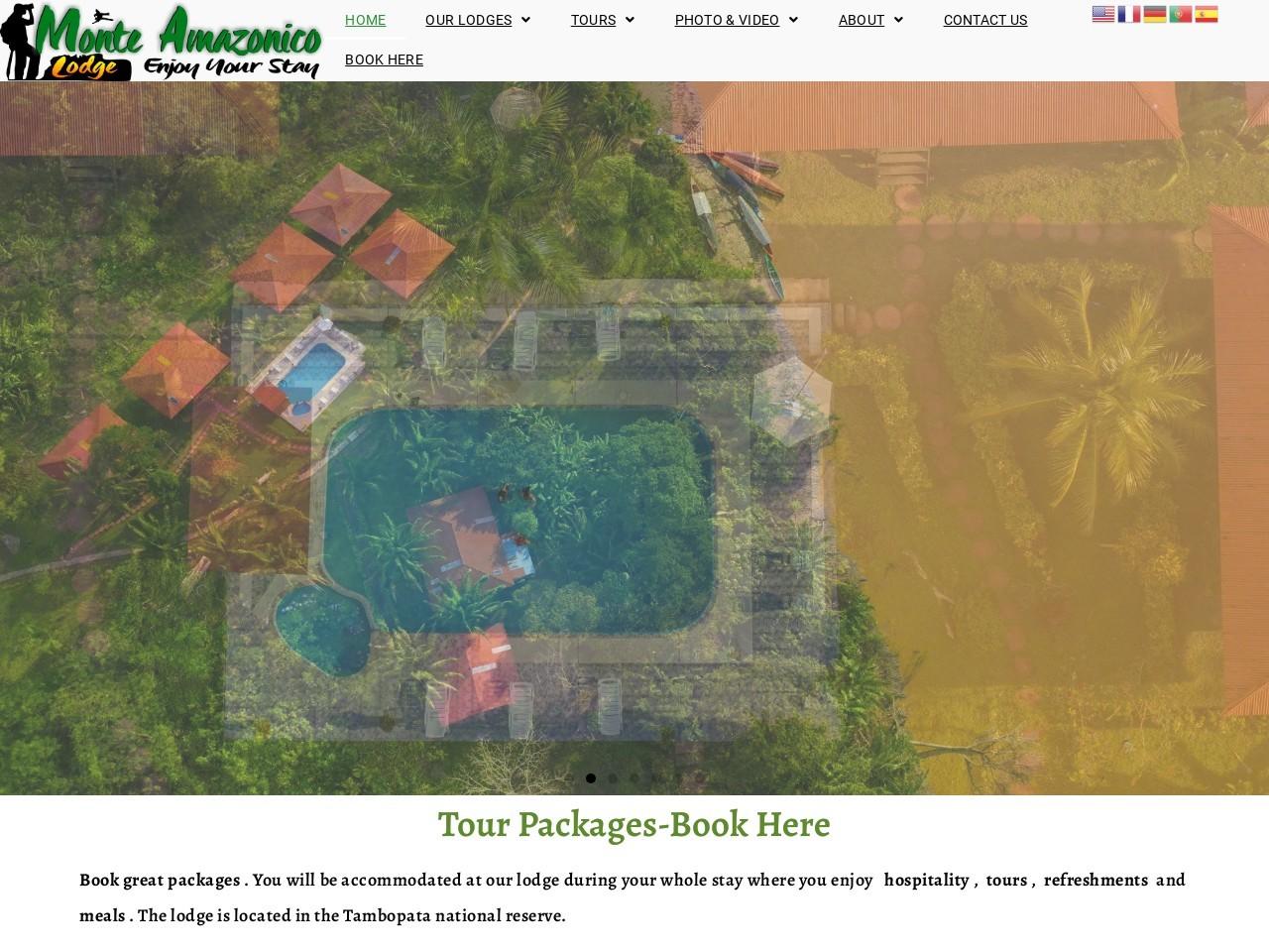 Tambopata National Reserve Amazonicos