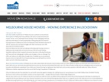 MELBOURNE HOUSE MOVERS EXPERIENCE IN LOCKDOWN