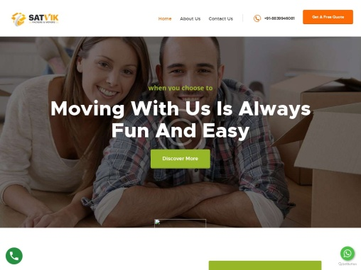 India's No #1 Packers and Movers | Satvik Packers and Movers