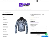 X-Men Quick Silver Leather Jacket For Kids