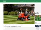 Who Makes Simplicity Lawn Mowers?