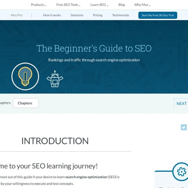 SEOの初心者のためのガイド:検索エンジン最適化 - Moz