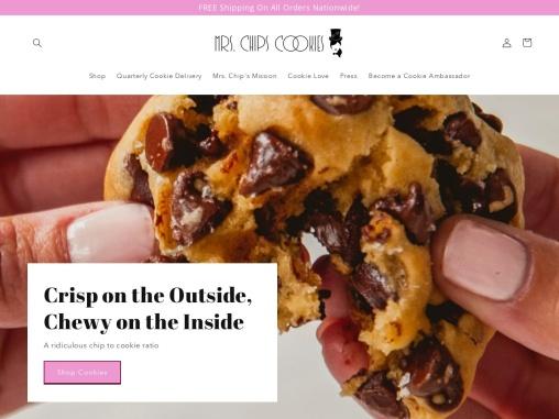 Mrs. Chips Cookies   Cookie Delivery Online   Los Angeles Cookies