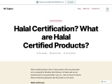 Halal Certification? What are Halal Certified Products?