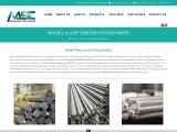 Stainless steel nickel alloy-Round bars in Mumbai-Mahalaxmi Steel