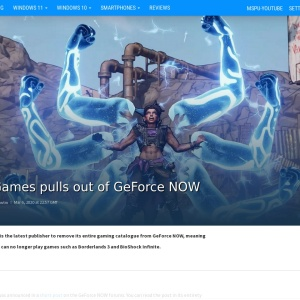 2K Games pulls out of GeForce NOW - MSPoweruser