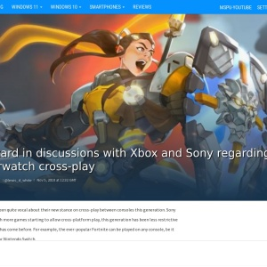 Blizzard in discussions with Xbox and Sony regarding Overwatch cross-play - MSPoweruser