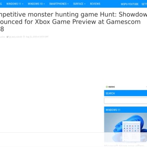 Competitive monster hunting game Hunt: Showdown announced for Xbox Game Preview at Gamescom 2018 - MSPoweruser