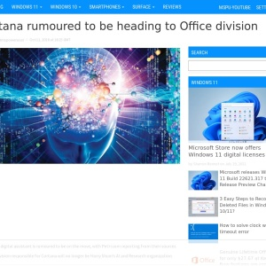 Cortana rumoured to be heading to Office division - MSPoweruser