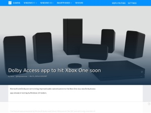 Dolby Access app to hit Xbox One soon - MSPoweruser