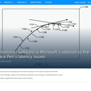 Ink Prediction software is Microsoft's solution to the Surface Pen's latency issues - MSPoweruser
