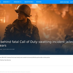 Man behind fatal Call of Duty swatting incident jailed for 20 years - MSPoweruser