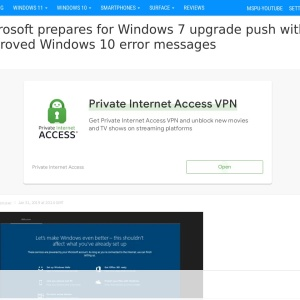 Microsoft prepares for Windows 7 upgrade push with improved Windows 10 error messages - MSPoweruser